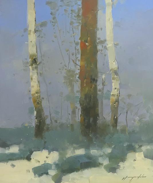Vahe Yeremyan, 'Viridian Birches', 2019, Vayer Art