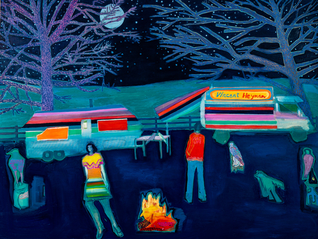Tom Hammick, 'Art Life', 2020, Painting, Oil on canvas., Lyndsey Ingram