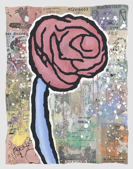 , 'Slumbering Punch,' 2015, The Hole