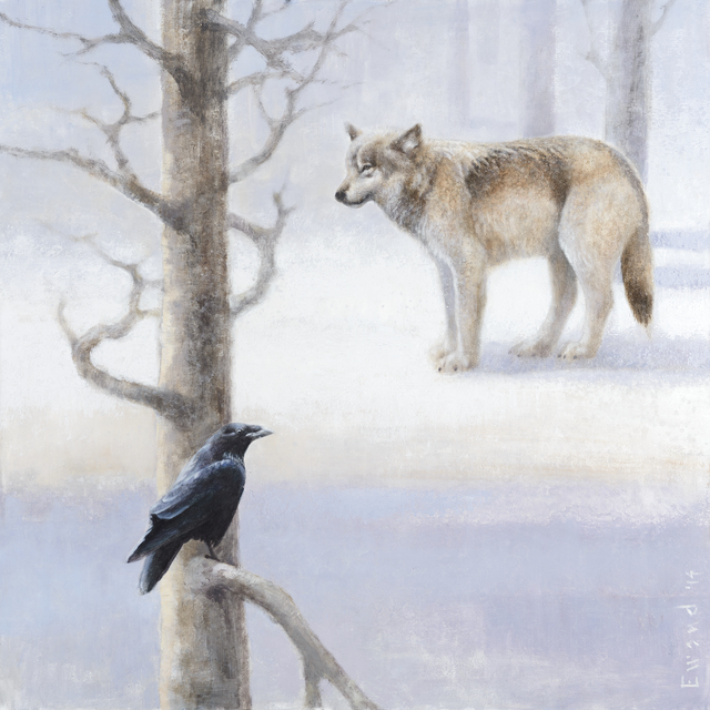 , 'Wolf and Raven,' , Stremmel Gallery