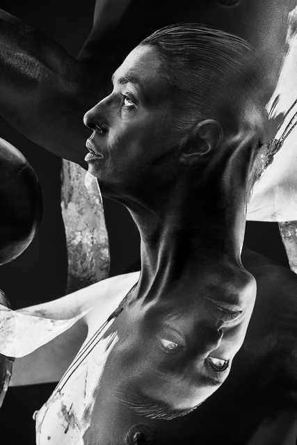 ", 'Framed Black and White photograph by Alex Korolkovas ""Eves #12"",' 2018, Valerie Goodman Gallery"