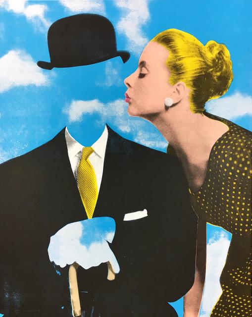 Joe Webb, 'Kissing Magritte ', 2018, Maddox Gallery
