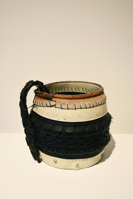 , 'Tire Jar,' 2013, Carter Burden Gallery