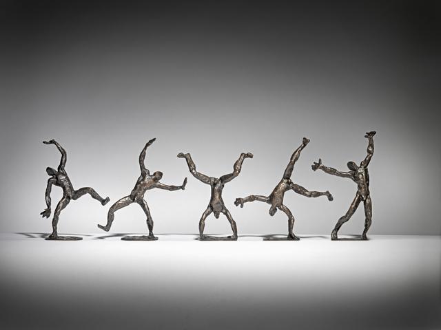 Sophie Dickens, 'Cartwheeler', 2019, Sculpture, Bronze, Sladmore