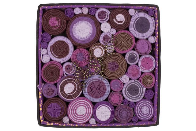 , 'Purple Maquette,' 2013, MDC Museum of Art + Design