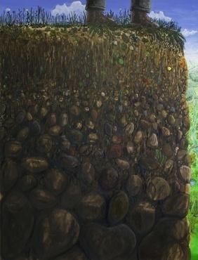 , 'Lay of the land,' 2013, Quadrado Azul