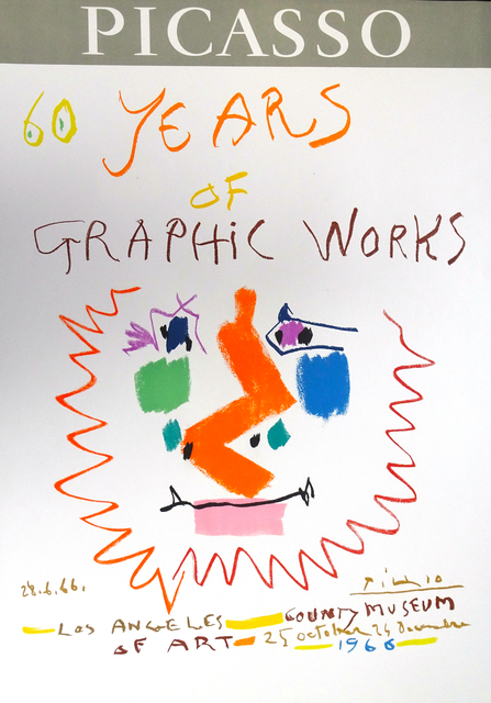 Pablo Picasso, 'Picasso 60 Years of Graphic Works Los Angeles 1966', 1966, Wallector