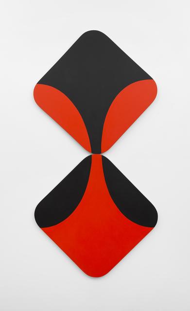 Leon Polk Smith, 'Reflections-Red-Black', 1968, Richard Gray Gallery