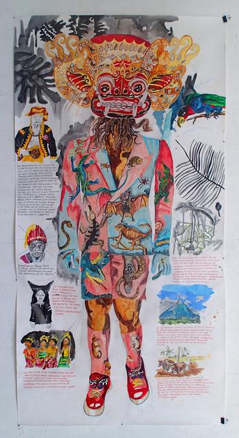, 'Dorpshoofd van het eiland Nias,' 2013, AKINCI