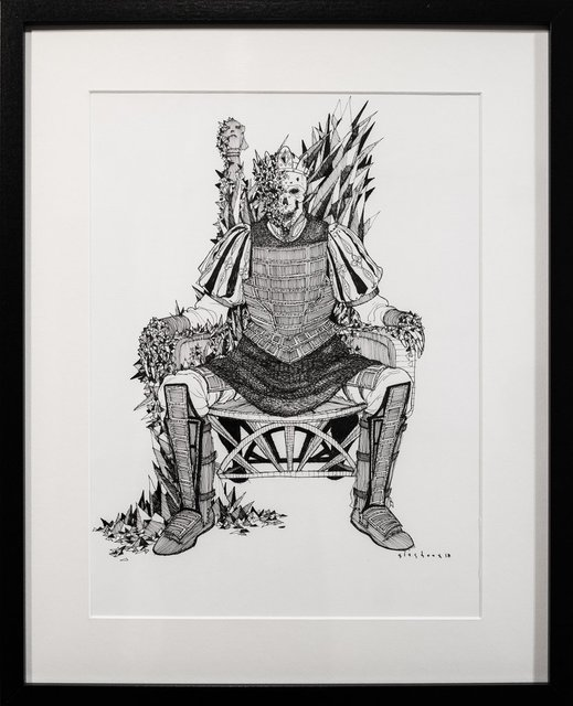 , 'Dead Kings [b: ossify],' 2018, Paradigm Gallery + Studio