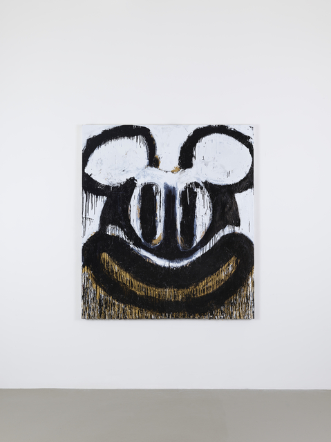 , 'Black and White Mickey,' 2018, Lisson Gallery