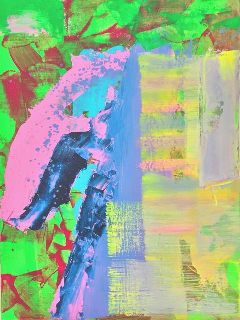 , 'The field well,' 2015, Galerie Kornfeld