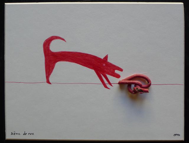, 'Scène de rue ,' 2010, Magnin-A