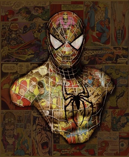 , 'Spider-man,' 2017, Samhart Gallery
