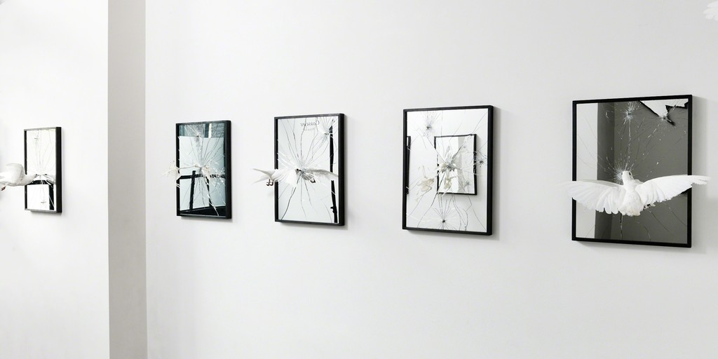 Pryce Lee, 'Ceasefire' installation view at The Garage, Amsterdam.