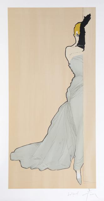 René Gruau, 'Woman in a Doorway', ca. 1970, RoGallery