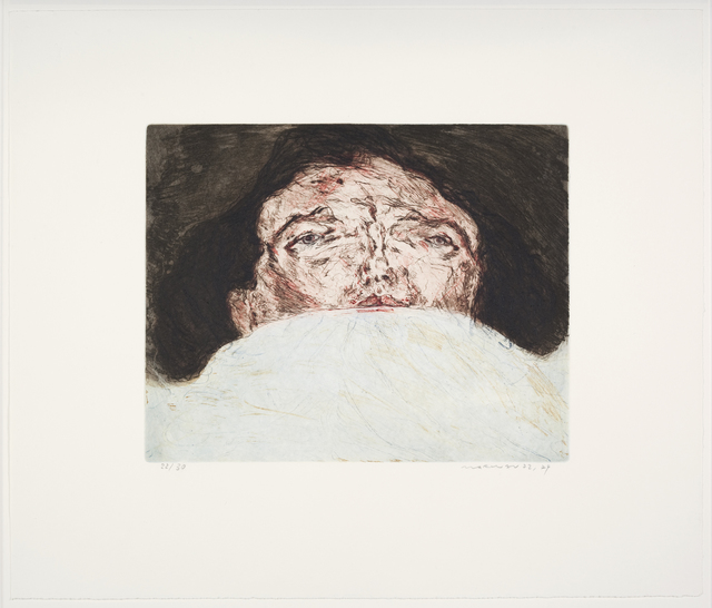 , 'Im Bett (In Bed) ,' 1972-1974, Emanuel von Baeyer