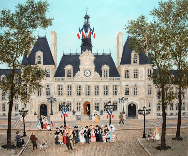 Fabienne Delacroix, 'Mariage à l'hotel de ville', Hugo Galerie