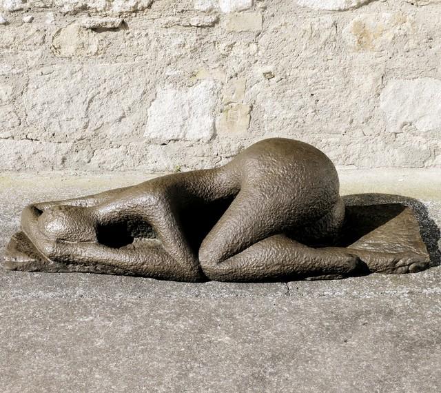 , 'Reclining Figure,' Design 1947, Galerie Bei Der Albertina Zetter