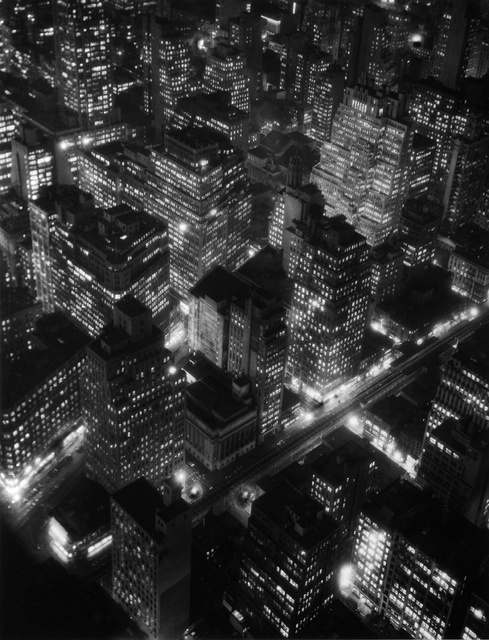 , 'NIGHTVIEW, NEW YORK,' 1932, Huxley-Parlour