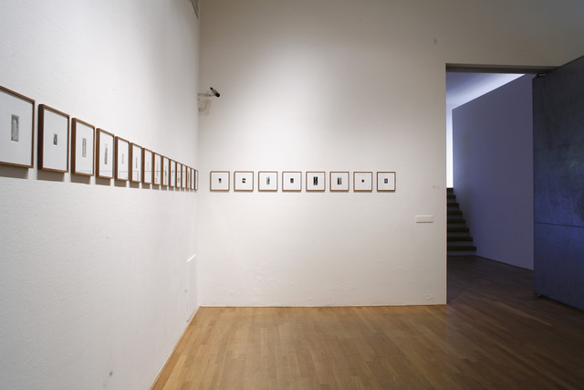 , 'Fountain, 25 photos, installation view,' 2000, tegenboschvanvreden