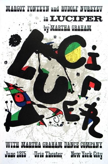 Joan Miró, 'Lucifer', 1975, ArtWise