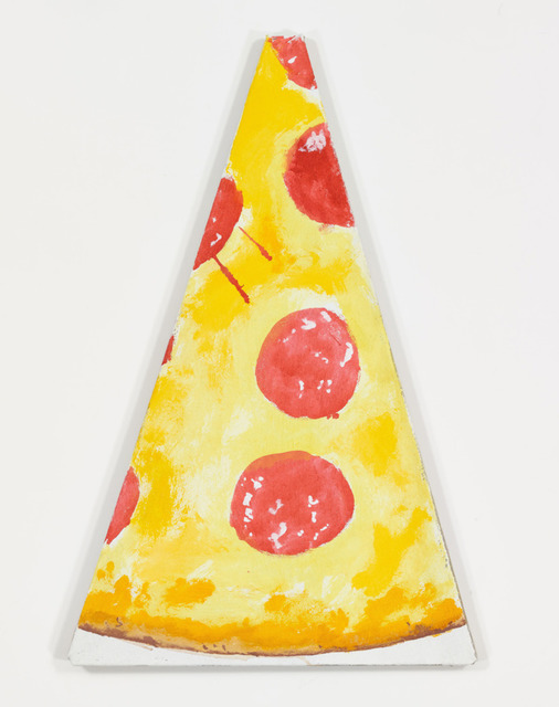 , 'Peter Paul and Pizza Slice #1,' 2012, UTA Artist Space