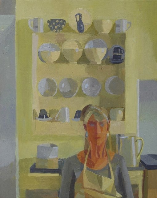 , 'Portrait with Collection,' , Gateway Gallery
