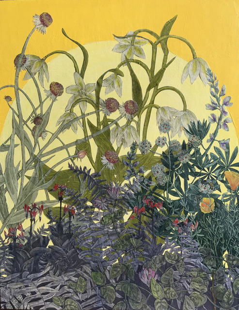 , 'Native Plant Collage,' 2017, Wally Workman Gallery