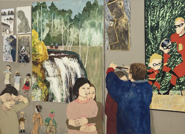 Maya Hewitt, 'Memory Foam', 2020, Painting, Oil and acrylic on linen, Galería Marta Cervera