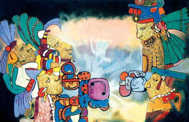 , 'Dawn & Evening Star (Olmec Maya series),' 1982, October Gallery