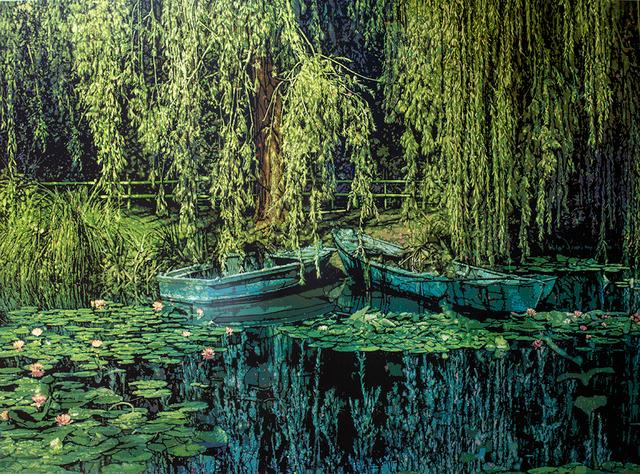 Logan Hicks, 'Two Boats', 2019, Taglialatella Galleries