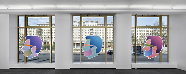 "Alex Israel, 'Installation view, ""Self-Portraits,"" April 26 - June 15,' , Peres Projects"