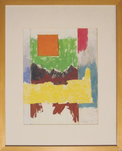 , 'Untitled (Orange Square 2),' 1984, Anita Shapolsky Gallery