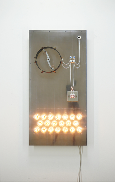 Satoru Tamura, 'Point of Contact for 20 Incandescent Lamps #8', 2020, Mixed Media, Mixed Media, MAKI