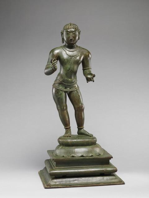 Unknown Indian, 'Child Saint Sambandar', late 11th century, The Metropolitan Museum of Art