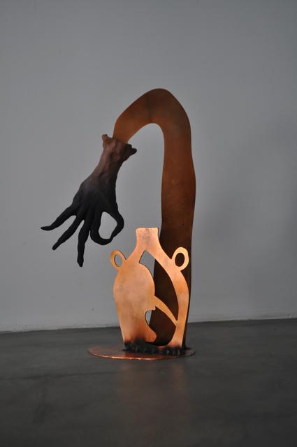 , 'Untitled (Mano de Bruja),' 2016, Ruby