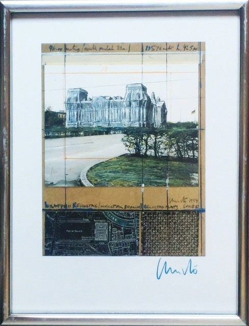 Christo and Jeanne-Claude, 'Wrapped Reichstag (Project for Berlin)', 1994, Alpha 137 Gallery Auction
