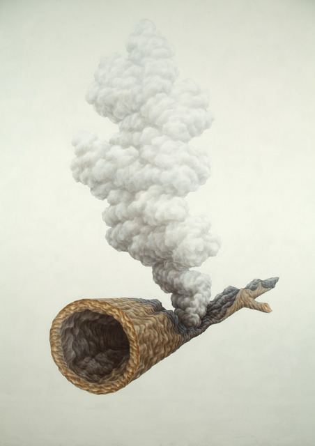 , 'Smoking Log,' 2010, 101/EXHIBIT
