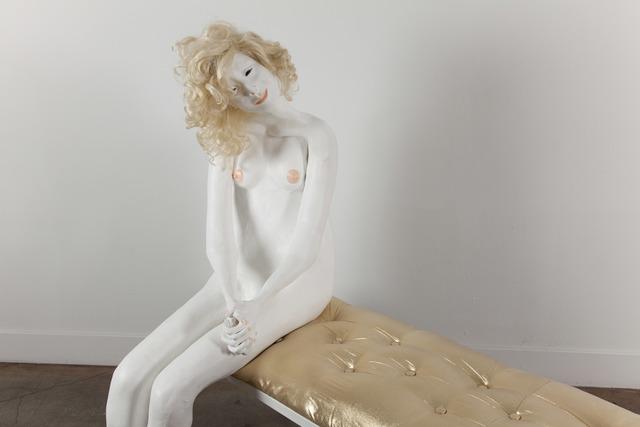, 'Platinum Musing II,' 2011, Jack Hanley Gallery