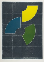 Gordon House, 'Quarter Yellow (Baro 120),' 1978-79, Forum Auctions: Editions and Works on Paper (March 2017)