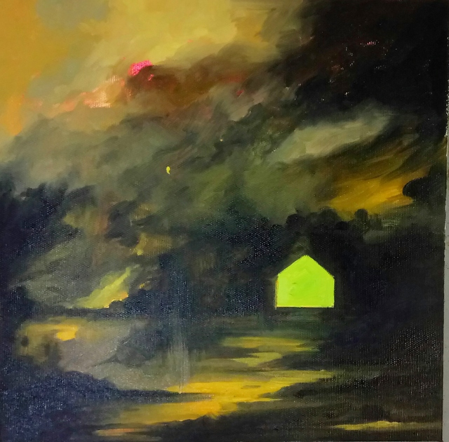 , 'Residual Landscape II,' 2017, Galerie Dix9 Hélène Lacharmoise