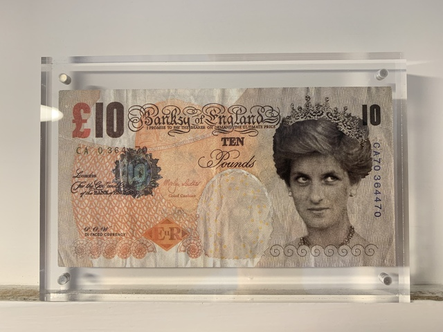 Banksy, 'GENUINE, BANKSY DI-FACED TENNER', 2004, Arts Limited
