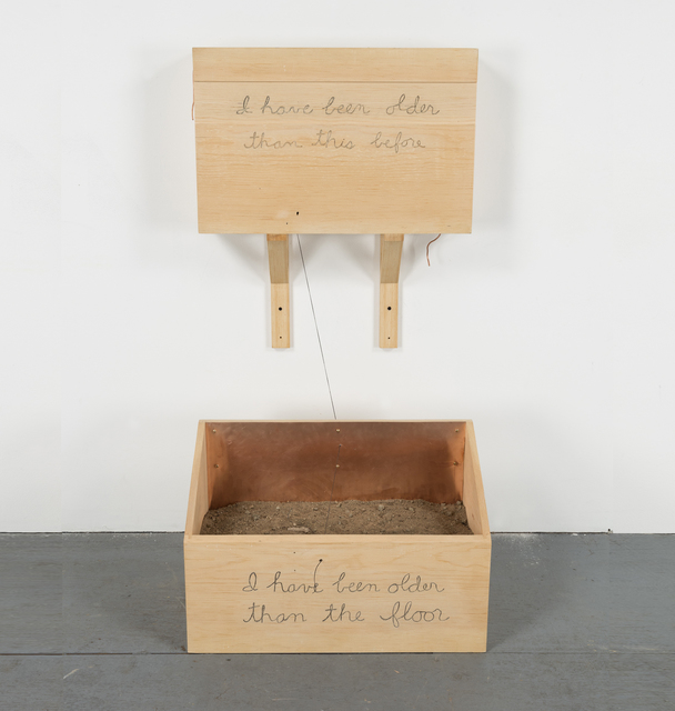 , 'I have been older than this before  ,' 2015, Alexander and Bonin