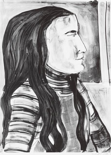 Chantal Joffe, 'Esme in Profile III', 2018, Edition Copenhagen