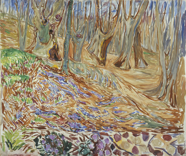 Edvard Munch, 'Spring in the Elm Forest', 1923, Van Gogh Museum