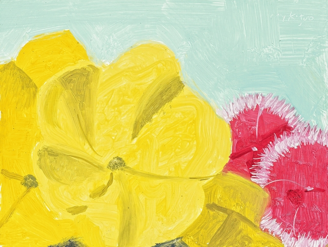 Alex Katz, 'Peony Incarnation #11', 2000, Painting, Oil on fibre board, Van Ham