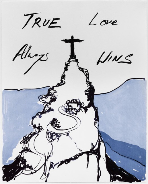 Tracey Emin, 'True Love Always Wins', 2016, The Drang Gallery