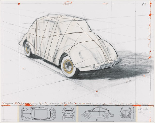 , 'Wrapped Volkswagen (PROJECT FOR 1961 VOLKSWAGEN BEETLE SALOON),' 2013, Aurifer AG