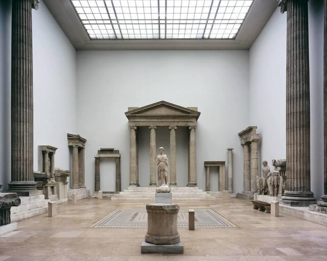 Reinhard Gorner, 'Greek Temple, Pergamon Museum, Berlin', 2006, Undercurrent Projects